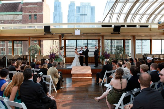 9 fabulous wedding venues for autumn voncierge for Terrace on the hudson