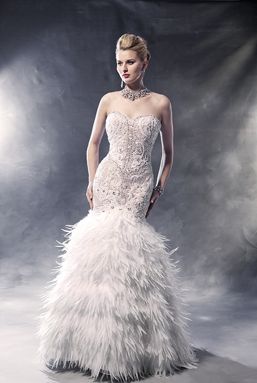 Winter wedding dress 2017